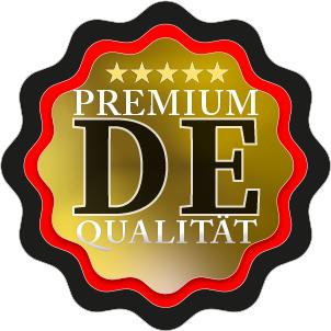 Premium Rinderpansen DE Qualitaets-Siegel fuenf Sterne